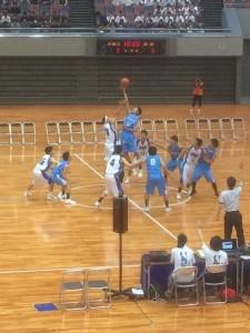 バスケ男子VS泉北戦