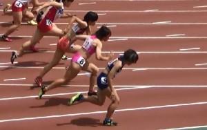 前田100m