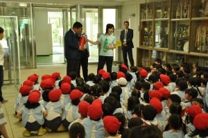 幼稚園避難訓練画像